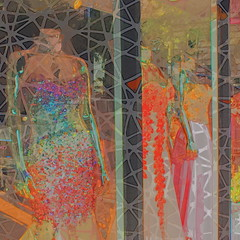 Enticement (hollykl) Tags: photomanipulation digitalart dresses windowdisplay sparkly hypothetical vividimagination artdigital arteffects shockofthenew sharingart awardtree digitalarttaiwan crazygeniuses netartii