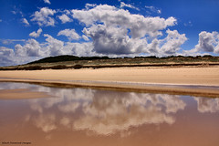 Cloud Reflections - Submarine Beach, Yagon, Myall Lakes National Park, Seal Rocks, Great Lakes, NSW (Black Diamond Images) Tags: 9thmarch2013 australianbeach australianbeaches myalllakesnationalpark reflection reflections sealrocks submarinebeach yagon nsw australia greatlakes greatlakestourism cloud clouds cloudreflection k9 k1x greatlakesnsw nswtourism bdi nswnationalparks shipwreckedsubmarine k1xsubmarine kixsubmarine
