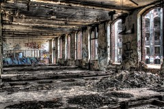 The beauty of decay (Michis Bilder) Tags: abandoned beauty industrial decay hdr wasteland ailing