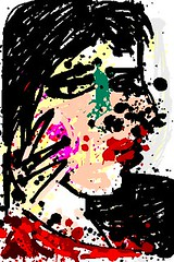 2013.03.05 Picasso's Portrait of Dora Maar, 1937 (Julia L. Kay) Tags: sanfrancisco pink red portrait woman white black green art face mobile female digital sketch san francisco artist arte julia kunst kay daily dessin jackson dora peinture drip picasso portraiture 365 pollock everyday dibujo splatter artista mda maar pablopicasso jacksonpollock artiste jacksonpollack iphone knstler iart isketch mobileart doramaar idraw iphoneart juliakay julialkay jacksonpollackapp jacksonpollockapp portraitofdoramaar iamda mobiledigitalart jacksonpollackapponly jacksonpollockapponly portraitofdoramaar1937 portraitofdoramaar1937bypablopicasso picassosportraitofdoramaar1937