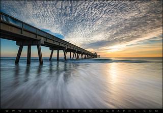 Deerfield Beach Pier Sunrise - Boca Raton Florida