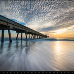 Deerfield Beach Pier Sunrise - Boca Raton Florida