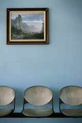 Depot (pantagrapher) Tags: blue art station ferry nikon chairs puertorico vieques d600