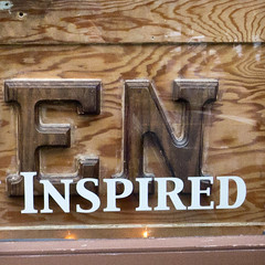 Enspired (glennbphoto) Tags: sanfrancisco sign unfoundinsf foundtext