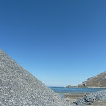 "Pile of gravel for road construction on shore of Lake Van <a style=""margin-left:10px; font-size:0.8em;"" href=""http://www.flickr.com/photos/59134591@N00/8589755082/"" target=""_blank"">@flickr</a>"