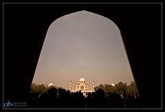 U ARE INSIDE MY HEART.. (Neelanjan Photography) Tags: sunset sky india color wide tajmahal agra gateway 7wondersofworld neelanjanphotography