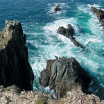 "Inishbofin Island Cliffs <a style=""margin-left:10px; font-size:0.8em;"" href=""http://www.flickr.com/photos/89335711@N00/8596714572/"" target=""_blank"">@flickr</a>"