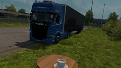 Coffee (DaveyY PhotoS) Tags: scania streamline r450 topline krone promods ets2 euro truck simulator 2 super besser ldtransport