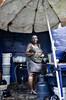 Cocinera en un mercado de Santo Domingo (República Dominicana) (dleiva) Tags: santo domingo cocinera mercado retrato street photography fotografia de calle dleiva leiva