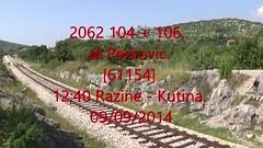 2014_09_999 (HK 075) Tags: hz croatia hrvatska railway diesel hk 075 2062 2044