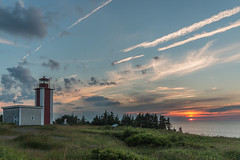 Point Prim Lighthouse (Wen879) Tags: ocean sunset canada clouds novascotia digby sigma1020mmf456 pointprimlighthouse canon70d