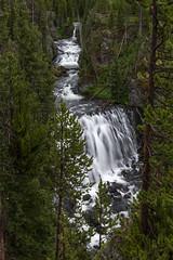 Kepler Cascades, Firehole River (HubbleColor {Zolt}) Tags: keplercascades travel yellowstonenationalpark waterfall wy wyoming