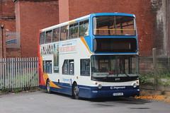 Stagecoach Manchester 16949 (V221 LGC) (SelmerOrSelnec) Tags: stagecoachmanchester volvo b7tl alexander v221lgc stockport dawbank bluebird bus dunstan londoncentral