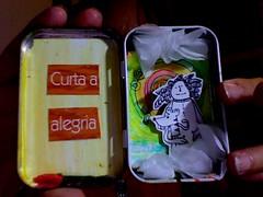 Foto criada em 2016-03-09 as 02.24 (Atelier Renata GAM) Tags: photobooth pensamento positiva dentro de uma lata balas reciclagem