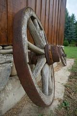 Rural Maramures, Romania (Marek Soltysiak) Tags: romania maramures wood wooden lemn rural folklore wheel salistea de sus turlas