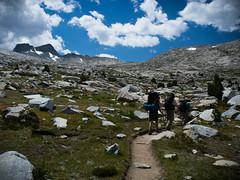 Rocky Terrain, Mt. Lyell, and the Pass 2 (deanwampler) Tags: sierras donahuepass anseladamswilderness jmt johnmuirtrail