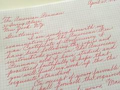IMG_4523 (xelo garrigs) Tags: calligrafia caligrafa calligraphy penmanship spencerian pilot pointedpen ornamentalscript