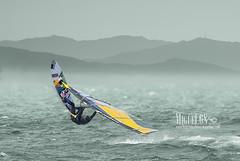 Windsurf (miguel68) Tags: cdiz tarifa bolonia valdevaqueros vientodelevante beach water sky nature sport sea natura mountains deportesacuticos waveofthesea olas freestyle puntapaloma