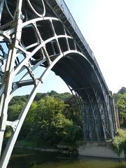 Under The Bridge (Thomas Kelly 48) Tags: panasonic lumix fz150 ironbridge shropshire riversevern bridge