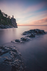 Mornings along the North shore (Pranamg) Tags: northshore splitrock longexposure landscapes fineart sunrise minnesota lighthouse lake superior nature duluth state park
