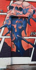 The Back Door (Cindy's Here) Tags: door colorful graffiti thunderbay ontario canada canon ansh scavenger7