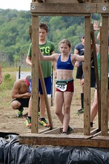 Ready for Cliff Hanger Obstacle (OakleyOriginals) Tags: conquerthegauntlet race obstacles torpedo wallsoffury stairwaytoheaven cliffhanger tulsa ok august 2016 challenge strength fitness competitive medals