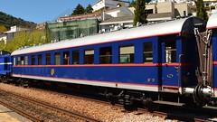 Carruagem Sy5 (Comboio Presidencial) - Pinho (valeriodossantos) Tags: comboio cp fmnf fundaomuseunacionalferrovirio train passageiros sy5 salopresidencial comboiopresidencial vilajoya vilajoyadouro especial pinho alij linhadodouro caminhosdeferro portugal