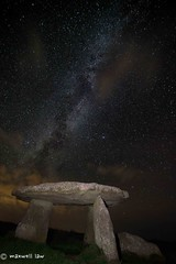 Lanyon Quoit 11th Sept 00-23-59 (Maxwell Law Photography LRPS) Tags: 36616254 prehistoric stones astro stars night lanyonquoit