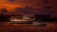 Dining Under the Stars (JDS Fine Art & Fashion Photography) Tags: boats ships ocean cruiseship romantic night cityscape sunset sky serene