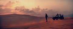 Plains Of Silence (~Scimo~) Tags: madmax landscape screenshot videogame ps4 wasteland clouds sky sunset