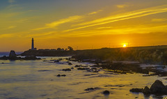 Sunset at Pigeon Point Lighthouse (X68_5514-1) (Eric SF) Tags: pigeonpointlighthouse pigeonpoint pescadero california lighthouse sunset landscape