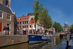 Amsterdam Channel Tour (Stan de Haas Photography) Tags: amsterdam tour outdoor cruise netherlands holland river travel pier day european urban landmark culture history ship traditional editorial building transport lifestyle area channel architecture transportation tourists boat tourism style europe landscape facade standehaas