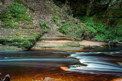 Still Water (_Shak_) Tags: longexposure finnichglen scotland burn river stream devilspulpit brook stirlingshire