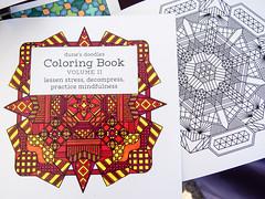 Coloring book by Dune Erickson (marketkim) Tags: newproduct eugene oregon saturdaymarket festival artfair eugenesaturdaymarket artfestival