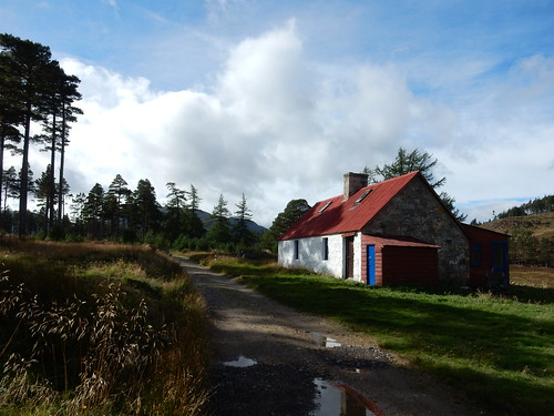 Girl Guides hut,  Invercauld Estate