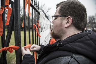 Witness Against Torture: Ryan Ties a Ribbon