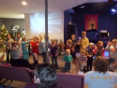 A Church Night Kids Singing 016
