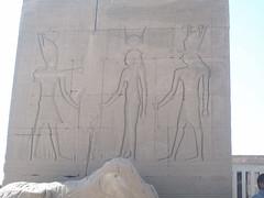 Dendera Temple Complex (II) (isawnyu) Tags: building brick history archaeology stone temple site ancient roman egypt structure pylon relief egyptian civilization archaeological trajan egyptology hathor domitian dendera tentyra pleiades:depicts=786127