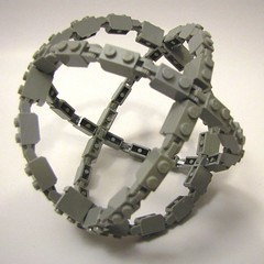 What is it? (cmaddison) Tags: hinge lego sphere