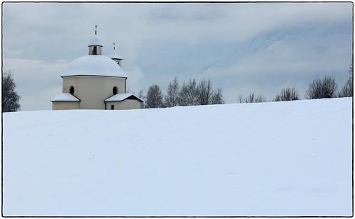 Heilig-Grab Kapelle bei Wiesen (mikiitaly) schnee winter italy sdtirol altoadige valdivizze pfitschtal pfitsch elementsorganizer11