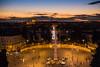 Dal Pincio (Viditu) Tags: city light sunset sky panorama cloud vatican rome roma italia tramonto nuvole view terrace romano vaticano cielo vista romantic sanpietro varie lazio città piazzadelpopolo pincio terrazza coladirienzo cieloromano