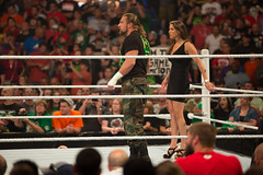 HHH will protect you (xanderhieken) Tags: raw wrestling stlouis center h stephanie hhh triple 1000 thousand episode wwe wwf mcmahon smackdown levesque scottrade
