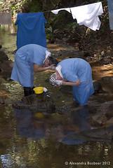 Hairwashing in the stream 2-12 (Amigas del Senor) Tags: laundry alegria slideshow confianza