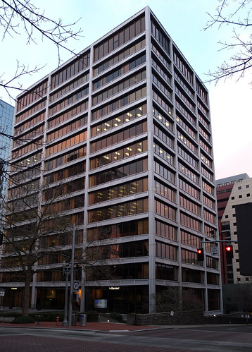Standard Insurance Building (1963).  Portland Oregon, January 23 2013.