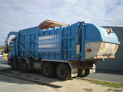Old Cleanaway MNL (AussieGarbo) Tags: trash truck garbage industrial lift disposal front collection commercial rubbish vehicle service fl waste refuse loader recycling trade services macdonald industries johnston scania mnl cleanaway transpacific 114g