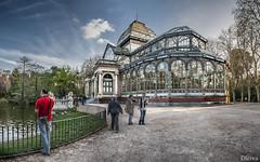 Parque de Retiro, Palacio de cristal (Madrid) (dleiva) Tags: madrid park parque espaa building spain capital edificio retiro palaciodecristal madridprovince dleiva domingoleiva