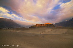 Skardu Desert. (Mountain Photographer) Tags: pakistan sunset mountains desert peak kkh peaks muntain skardu baltistan gilgat northranarea rizwansaddique