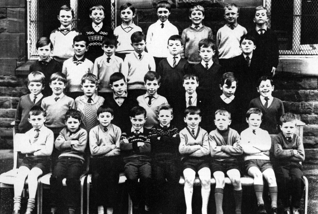 St Mungo's School. Primary 3 Townhead 1968