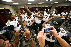 Ravens Nation (Alan Bowser) Tags: neworleans superbowl superdome 12thman baltimoreravens edreed raylewis rayrice johnharbaugh terrellsuggs joeflacco anquanboldin torreysmith