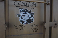 feral child (bearded wagon) Tags: west art train bench bars steel south az oil boxcar hobo freight trackside streakers railbox monikers moniker meanstreaks benched 2213 benchers